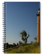 Little Sable Lighthouse By Silver Lake Michigan No.557 Spiral Notebook