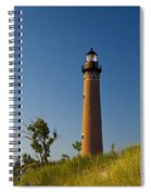 Little Sable Lighthouse On The Dune By Silver Lake Michigan No.560 Spiral Notebook