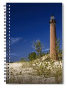 Little Sable Point Light No.0285 Spiral Notebook