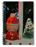Little Santa Spiral Notebook