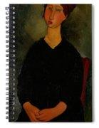 Little Servant Girl Spiral Notebook