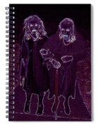 Little Vampires Spiral Notebook
