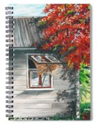 Little West Indian House 1 Spiral Notebook