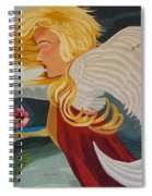 Little Wings Hand Embroidery Spiral Notebook
