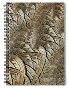 Litz Wire Abstract Spiral Notebook