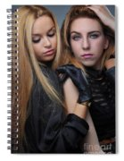Liuda And Coral 1 Spiral Notebook