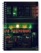 Live Bait Spiral Notebook