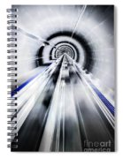 Live In The Future Spiral Notebook
