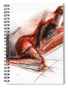 Live Model Study 3 Spiral Notebook