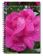 Live To Life Spiral Notebook