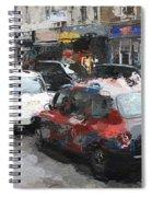 Liverpool Station London Spiral Notebook