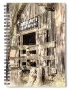 Livery Spiral Notebook