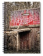 Livery Stable  Movie Set Spiral Notebook