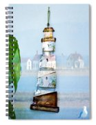 Living By The Sea - Pacific Ocean Spiral Notebook