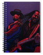 Living Colour Painting Spiral Notebook
