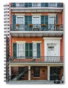 Living High In The French Quarter Spiral Notebook