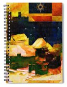 Living In The Global Village Spiral Notebook