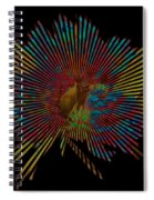 Living In The Past Spiral Notebook