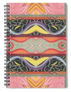 Living In The Pink 1 - Tjod X V I Arrangement Spiral Notebook