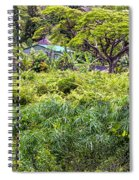 Living Off The Grid In The Waipi'o Valley Spiral Notebook