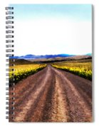 Living On Back Roads Spiral Notebook