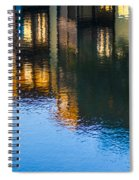 Living On The Water - 3 Spiral Notebook