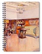 Living Room, 1905 Spiral Notebook