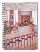 Living Room, Early 1900s Spiral Notebook