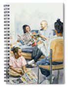 Living Room Serenades Spiral Notebook