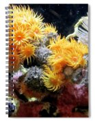 The Living Sea Spiral Notebook
