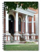 Livingston County Courthouse 05 Pontiac Il Spiral Notebook