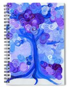 Liz Dixon's Tree Blue Spiral Notebook