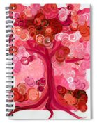 Liz Dixon's Tree Red Spiral Notebook