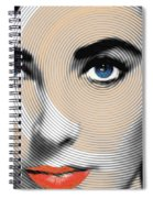 Liz Taylor Spiral Notebook