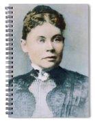 Lizzie Andrew Borden (1860-1927) Spiral Notebook