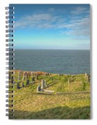 Llanbadrig Church Panorama Spiral Notebook