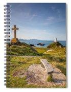 Llanddwyn Island Bench Spiral Notebook
