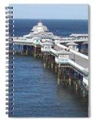 Llandudno Pier Spiral Notebook
