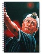 Lleyton Hewitt 2  Spiral Notebook