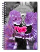 Lovers Frozen Kiss Spiral Notebook