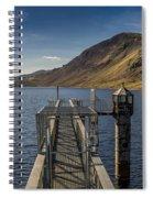 Llyn Cowlyd Reservoir Spiral Notebook