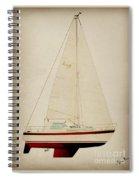 Lm Historic Sailboat Spiral Notebook