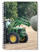 Loading Hay Spiral Notebook