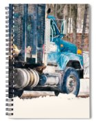 Loading Of Logs  Spiral Notebook