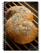 Loaf Of Fresh Baked Bread Spiral Notebook