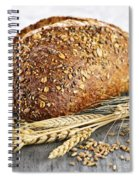 Loaf Of Multigrain Bread Spiral Notebook