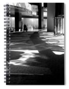 Lobby Of The Bow Spiral Notebook