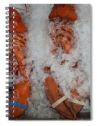 Lobster At Woodman's Spiral Notebook