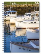 Lobster Boats - Perkins Cove -maine Spiral Notebook