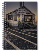 Lobster Landing Shack Restaurant At Sunset Spiral Notebook